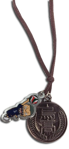 Haikyu!! - Ryunosuke & Karasuno Necklace, an officially licensed product in our Haikyu!! Jewelry department.