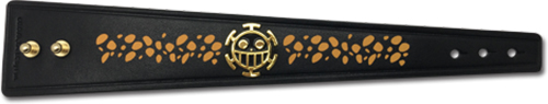 One Piece - Law New World Leather Bracelet, an officially licensed product in our One Piece Jewelry department.