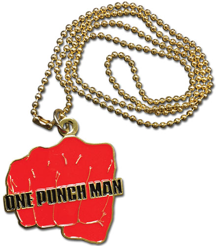 One Punch Man - Fist Necklace, an officially licensed product in our One-Punch Man Jewelry department.
