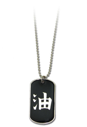 Naruto Shippuden Jiraiya Dog Tag Necklace, an officially licensed product in our Naruto Shippuden Jewelry department.