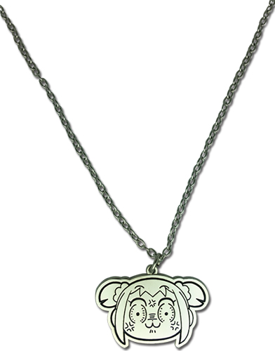 Pop Team Epic - Popuko Rage Necklace, an officially licensed product in our Pop Team Epic Jewelry department.
