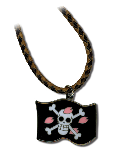 One Piece Chopper Flag Necklace, an officially licensed product in our One Piece Jewelry department.