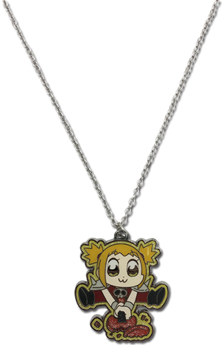 Pop Team Epic - Popuko 02 Necklace, an officially licensed product in our Pop Team Epic Jewelry department.