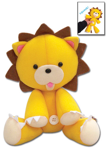 Bleach Kon Squeaky Plush 9.5, an officially licensed Bleach product at B.A. Toys.
