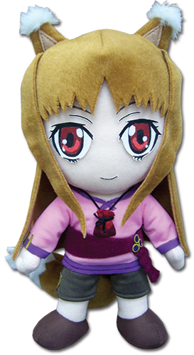 Spice& Wolf Holo Plush, an officially licensed Everything Else product at B.A. Toys.