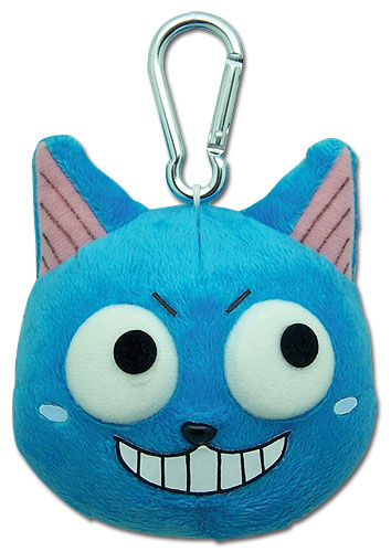 Fairy Tail Happy Plush Clip, an officially licensed product in our Fairy Tail Plush department.