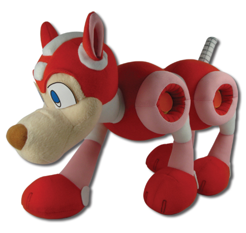 Mega Man 10 - Rush Plush, an officially licensed product in our Mega Man Plush department.