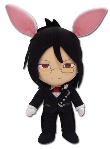 Black Butler Rabbit Sebastian 8 Plush, an officially licensed Black Butler product at B.A. Toys.