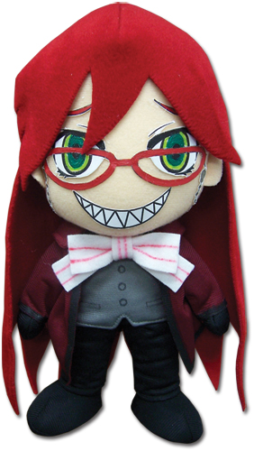 Black Butler 2 Grell 8 Plush, an officially licensed Black Butler product at B.A. Toys.