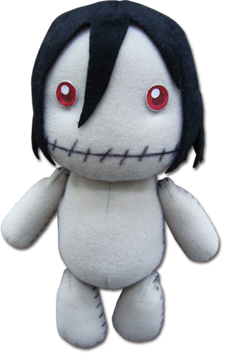 Black Butler Sebastian Made By Grell Plush, an officially licensed Black Butler product at B.A. Toys.
