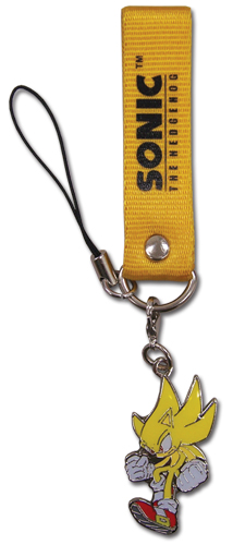 Sonic The Hedgehog Supersonic Cell Phone Charm, an officially licensed product in our Sonic Costumes & Accessories department.