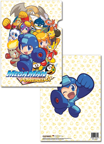 Megaman Powered Up Group File Folder (5 Pcs Pack), an officially licensed Mega Man Binder/ Folder