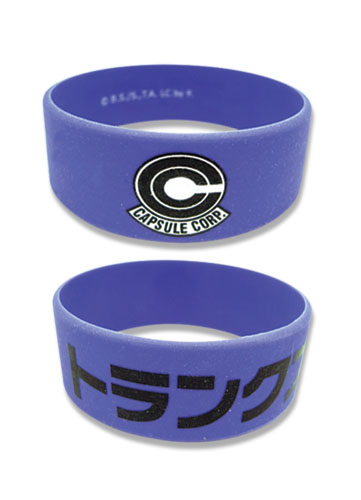 Dragon Ball Z Capsule Pvc Wristband officially licensed Dragon Ball Z Wristbands product at B.A. Toys.