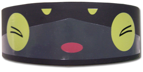 Blue Exorcist Kuro Pvc Wristband, an officially licensed product in our Blue Exorcist Wristbands department.