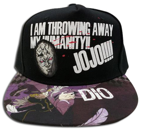 Jojo - Dio Adjustable Cap officially licensed Jojo'S Bizarre Adventure Hats, Caps & Beanies product at B.A. Toys.