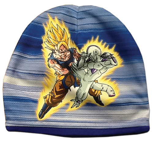 Dragon Ball Z - Goku Vs. Frieza Sublimation Beanie officially licensed Dragon Ball Z Hats, Caps & Beanies product at B.A. Toys.