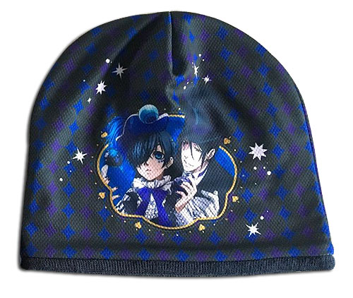 Black Butler B.O.C. - Ciel & Sebastian Beanie, an officially licensed Black Butler Book Of Circus product at B.A. Toys.
