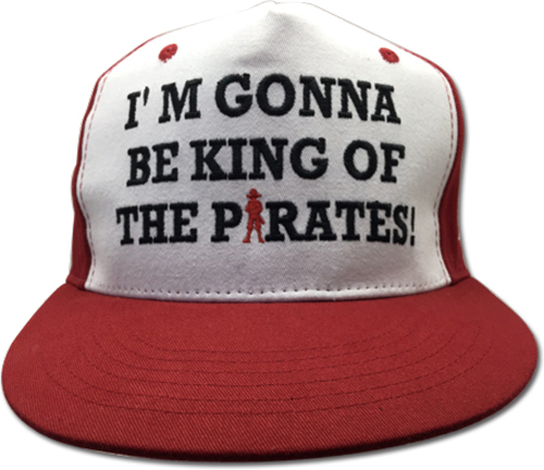 One Piece - King Of Pirates Fitted Cap officially licensed One Piece Hats, Caps & Beanies product at B.A. Toys.