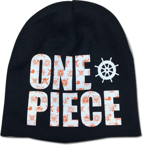 One Piece - Mugiwara Logo Beanie officially licensed One Piece Hats, Caps & Beanies product at B.A. Toys.