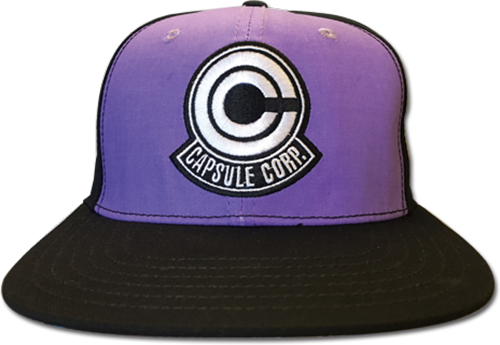 Dragon Ball Z - Capsule Corp. Fitted Cap officially licensed Dragon Ball Z Hats, Caps & Beanies product at B.A. Toys.