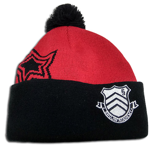 Persona 5 - Shujin High School Logo Beanie, an officially licensed product in our Persona Hats, Caps & Beanies department.