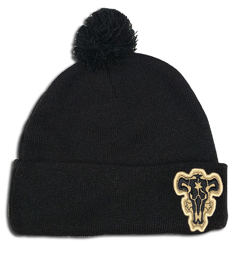 Black Clover - The Black Bulls Logo Beanie, an officially licensed product in our Black Clover Hats, Caps & Beanies department.