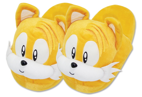 Sonic Classic Tail Slipper (one Size Fits All) officially licensed product at B.A. Toys.