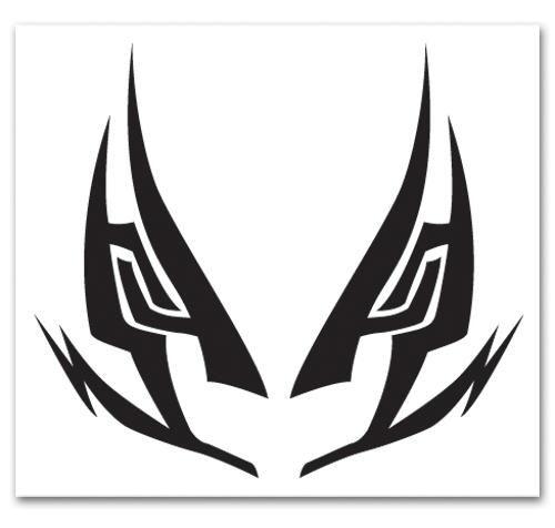 Bleach Renji Mask Tattoo, an officially licensed product in our Bleach Random Anime Items department.