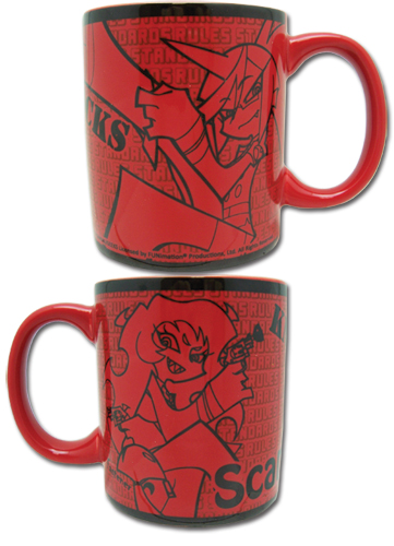 Panty & Stocking Demon Sisters Mug officially licensed Panty & Stocking Mugs & Tumblers product at B.A. Toys.