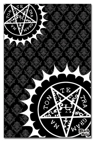 Black Butler - Pentacle Scarf, an officially licensed product in our Black Butler Costumes & Accessories department.