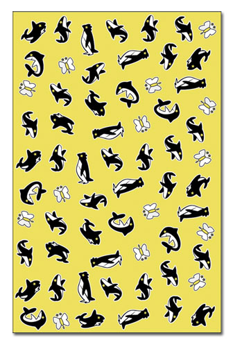 Free! - Animal Icons Scarf, an officially licensed product in our Free! Costumes & Accessories department.