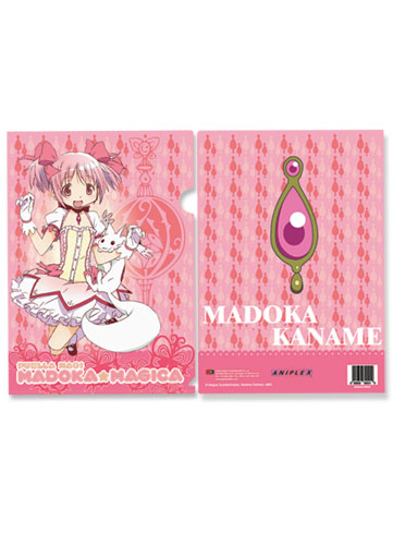 Madoka Magica Madoka File Folder (5 Pcs Pack), an officially licensed product in our Madoka Magica Stationery department.