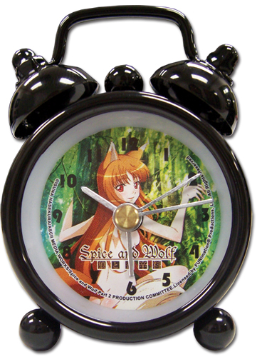 Spice And Wolf Holo Mini Desk Clock, an officially licensed product in our Spice & Wolf Clocks department.