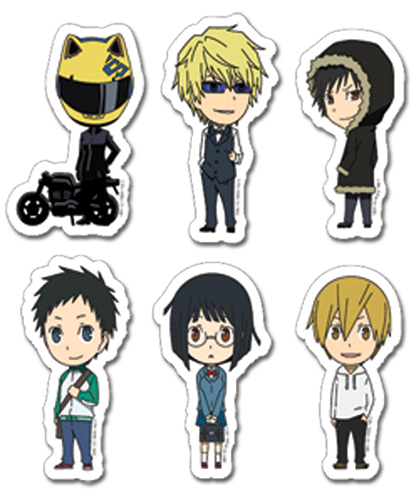 Durarara!! Character Sd Sticker Set, an officially licensed product in our Durarara!! Stickers department.