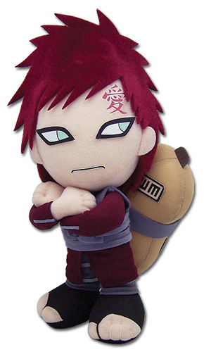 Naruto Shippuden Gaara Plush, an officially licensed product in our Naruto Shippuden Plush department.