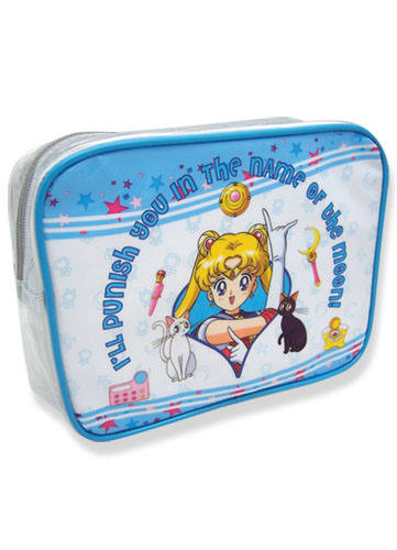 Sailormoon Sailor Moon Cosmetic Bag, an officially licensed product in our Sailor Moon Bags department.
