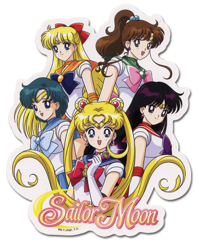 Sailormoon Sailor Soldier Sticker, an officially licensed product in our Sailor Moon Stickers department.