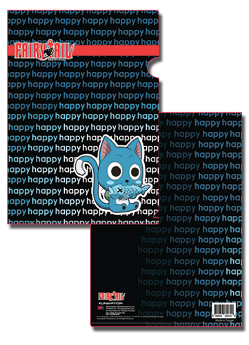Fairy Tail Happy File Folder, an officially licensed Fairy Tail product at B.A. Toys.