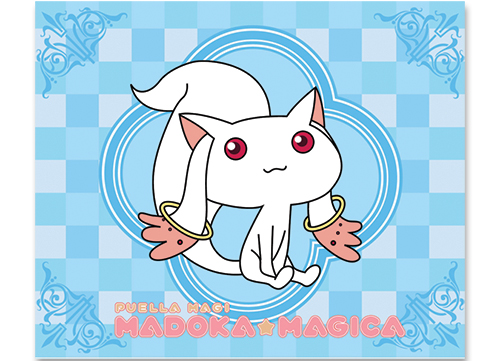 Madoka Magica Kyubey Throw Blanket, an officially licensed product in our Madoka Magica Blankets & Linen department.