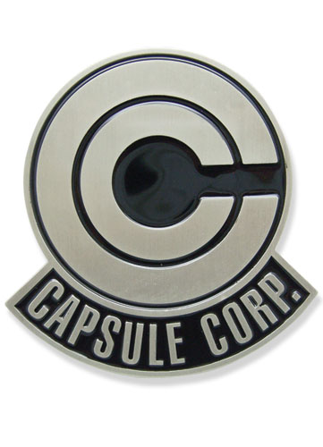 Dragon Ball Z Capsule Corp. Belt Buckle, an officially licensed Dragon Ball Z Buckle/ Belt