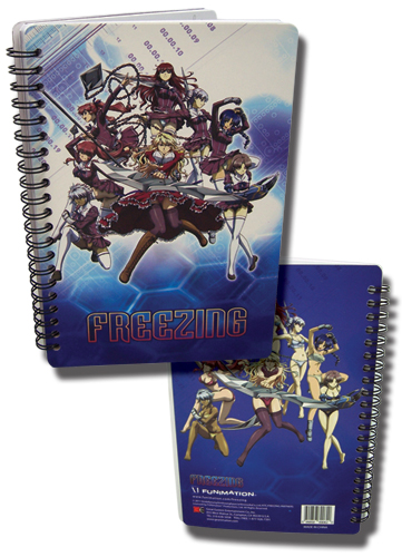 Freezing Group Notebook officially licensed Freezing Stationery product at B.A. Toys.