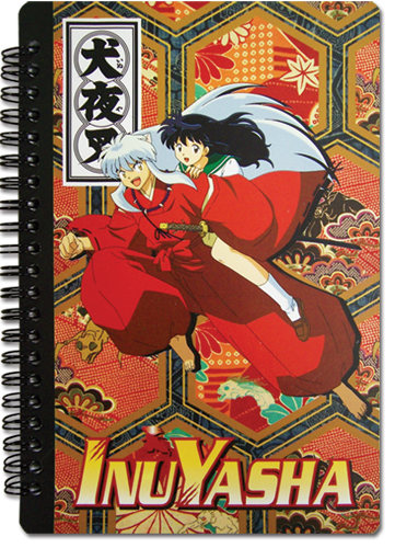 Inuyasha Group Notebook officially licensed Inuyahsa Stationery product at B.A. Toys.