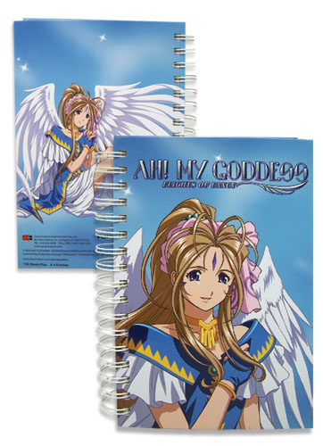 Ah! My Goddess Bellandy Hardcover Notebook officially licensed Ah! My Goddess Stationery product at B.A. Toys.