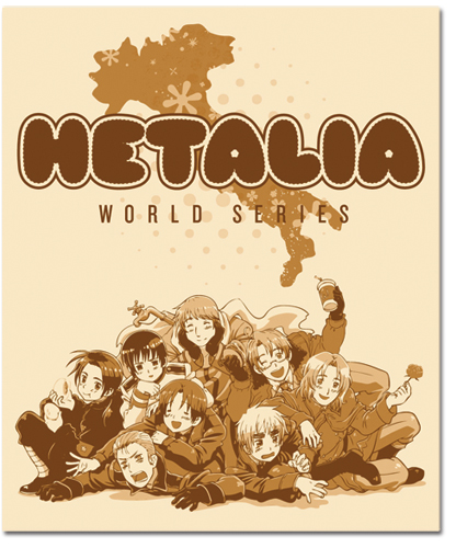 Hetalia World Series Group Blanket officially licensed product at B.A. Toys.