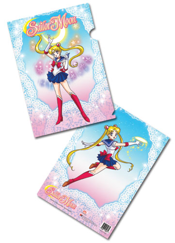 Sailormoon Sailor Moon Powers File Folder, an officially licensed product in our Sailor Moon Binders & Folders department.