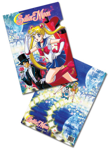 Sailormoon Sailor Moon And Tuxedo Kamen File Folder, an officially licensed product in our Sailor Moon Stationery department.