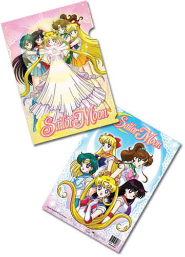 Sailormoon Sailor Soldiers File Folder (5 Pcs Pack), an officially licensed product in our Sailor Moon Stationery department.