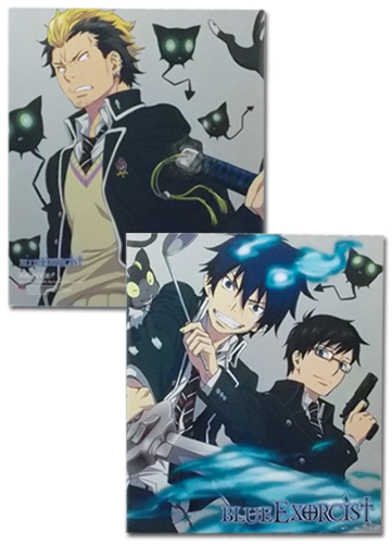 Blue Exorcist Group Binder officially licensed Blue Exorcist Binders & Folders product at B.A. Toys.