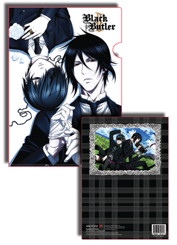 Black Butler 2 Sebastian And Ciel File Folder, an officially licensed Black Butler product at B.A. Toys.
