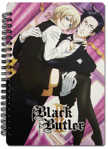 Black Butler 2 Group Notebook officially licensed Black Butler Stationery product at B.A. Toys.